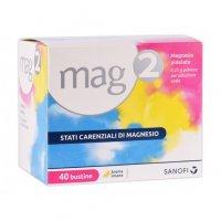Mag 2 Magnesio 40 Bustine 2,25 grammi - sanofi spa - Polvere per soluzione orale