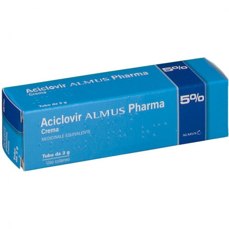 ACICLOVIR ALMUS*CREMA 3G 5%