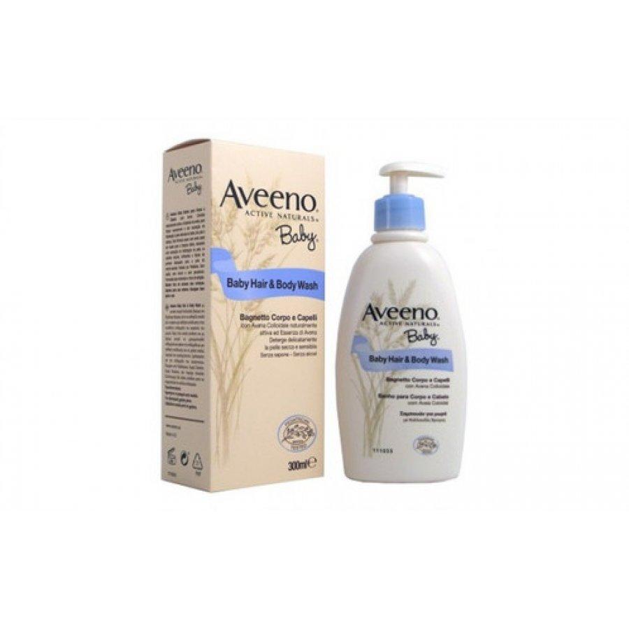 Aveeno Baby Bagnetto Corpo / Capelli 300ml x2 DOPPIA CONFEZIONE 2 PEZZI