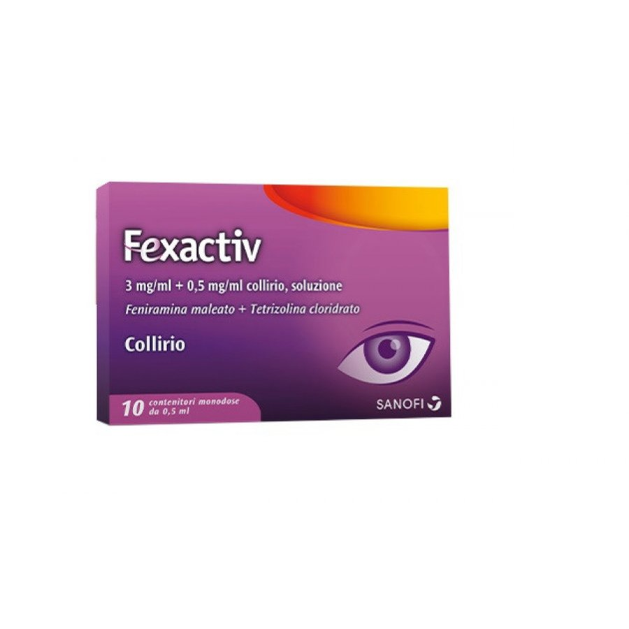 Fexactiv Collirio 10 flaconcini 0.5ml