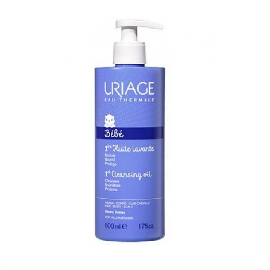 Uriage Bebè Première Huile Lavante Olio Detergente Protettivo 500 ml