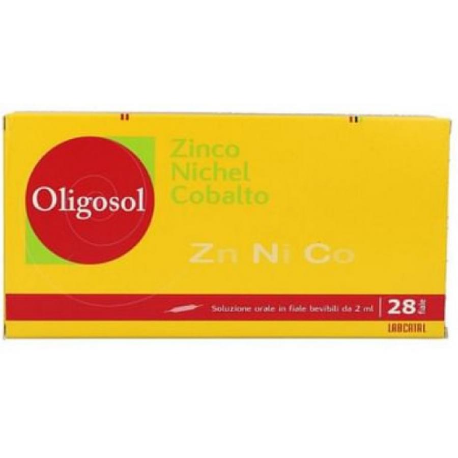 Labcatal Zinco + Nichel + Cobalto Origosol28 fiale orali