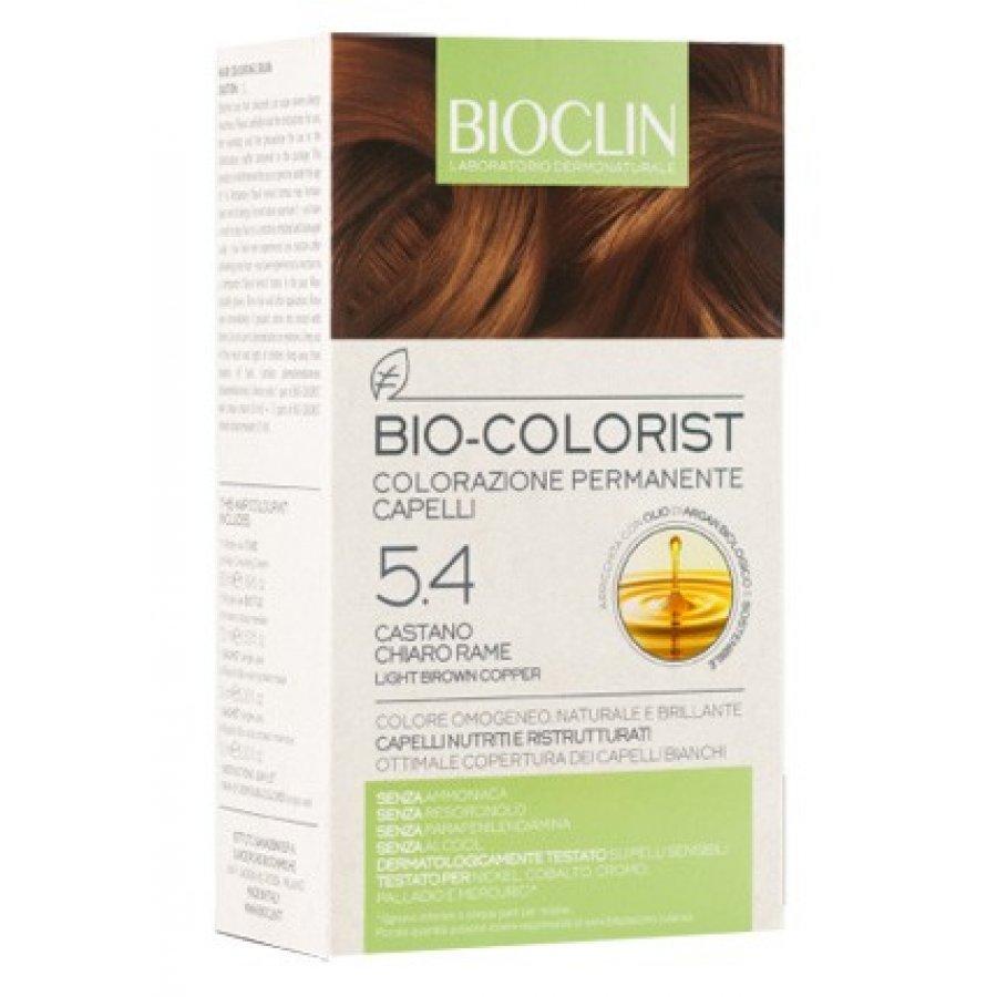 Bioclin Bio Colorist Colorazione Permanente 5.4 Castano Chiaro Rame