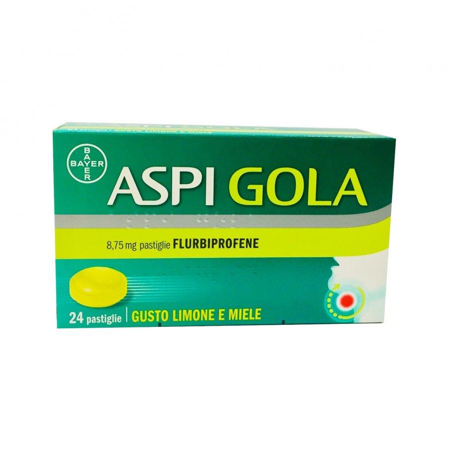 ASPI GOLA*24 Pastiglie gusto Limone e Miele