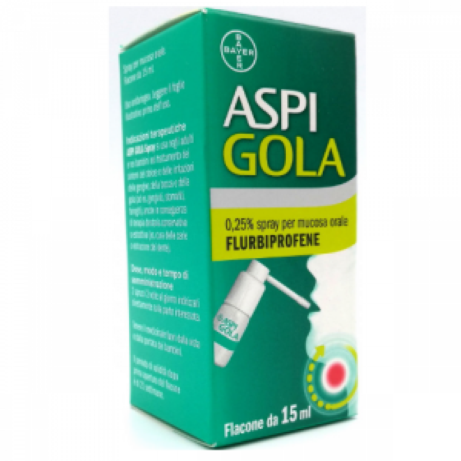 ASPI GOLA * OS  SPRAY 15ML 0,25%