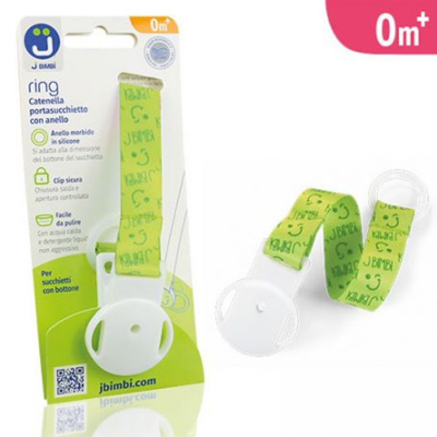 J Bimbi Ring Catenella Class Green