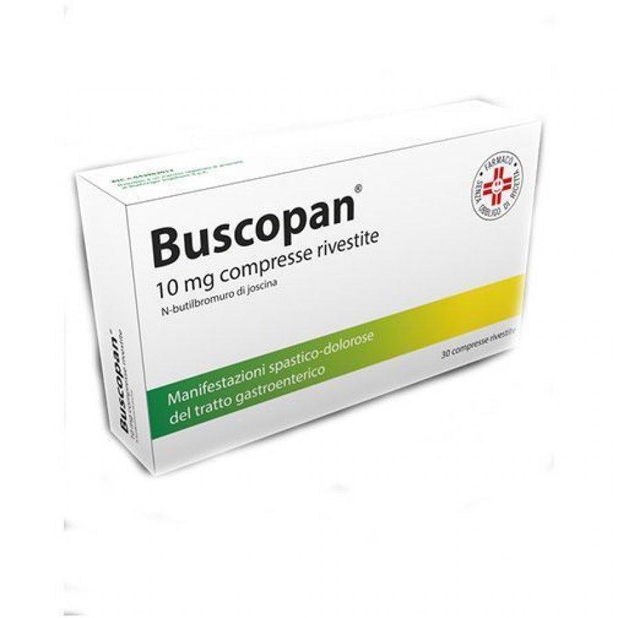 BUSCOPAN  30 COMPRESSE RIVESTITE 10MG - GMM