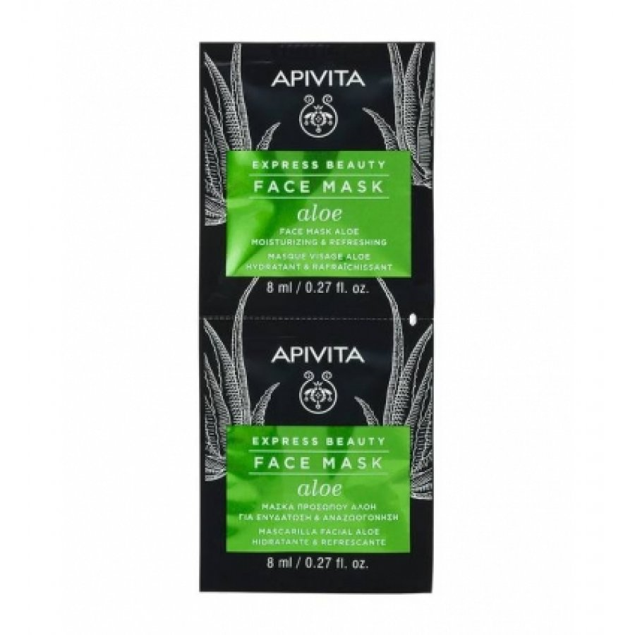 Apivita Express Mask Aloe 2x8ml