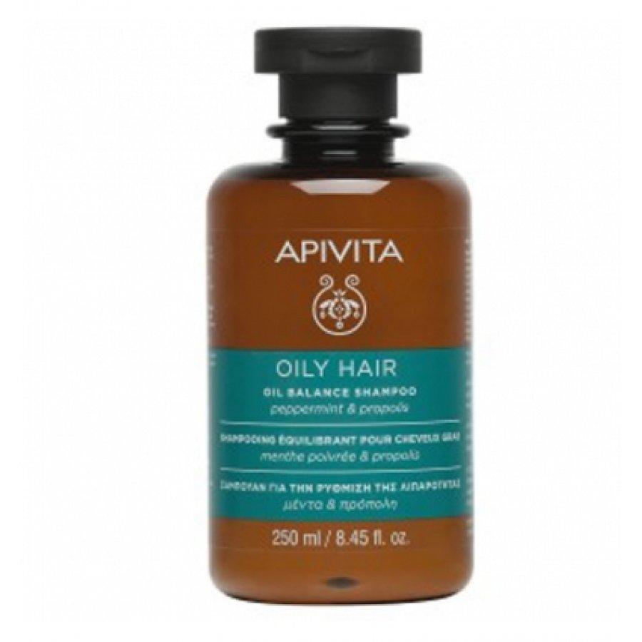 Apivita Shampoo Oil Balance 250 Ml