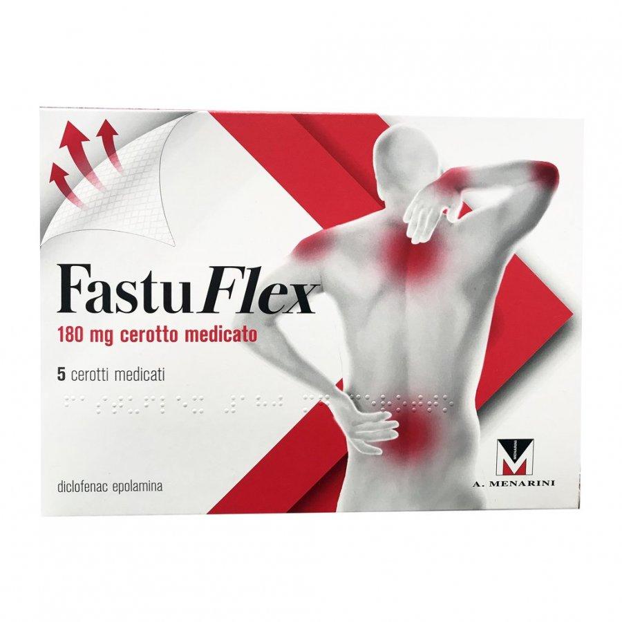 FASTUFLEX 180 MG 5 CEROTTI MEDICATI