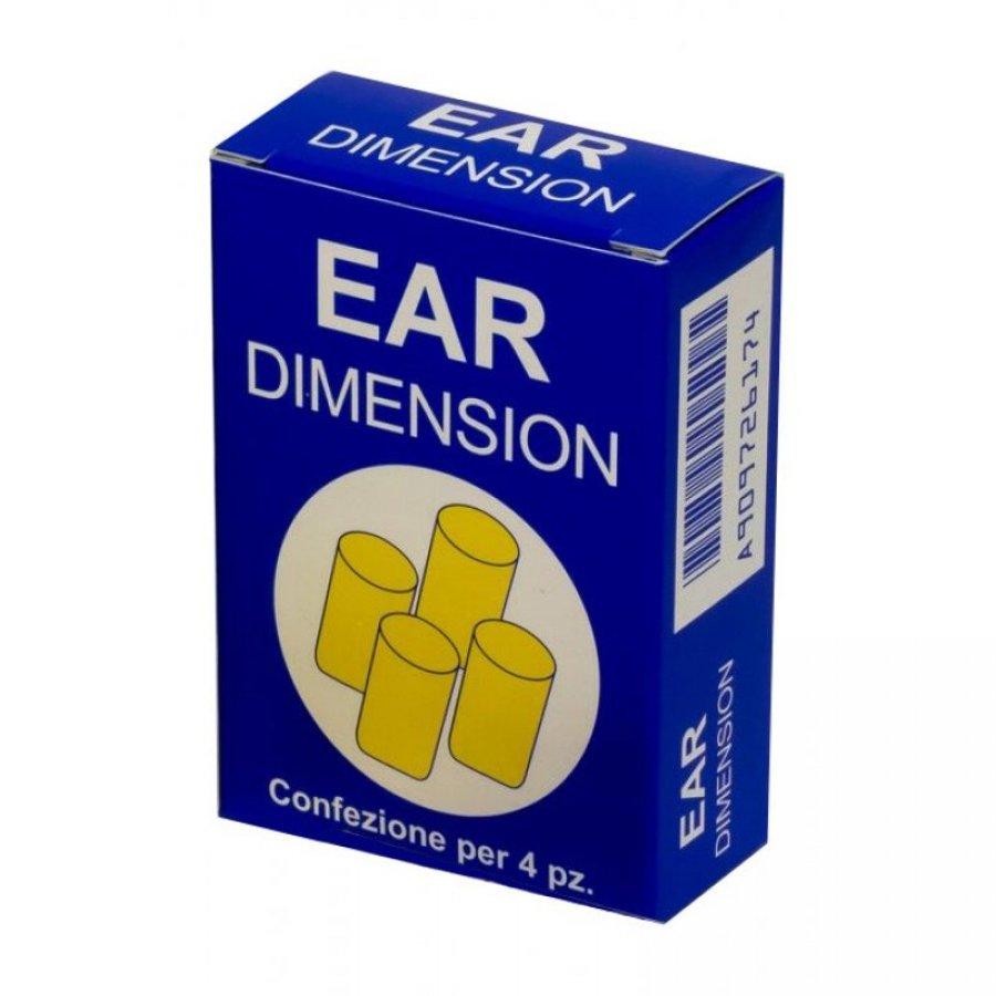 Ear Dimension - Tappo Auricolare - 4 Pezzi