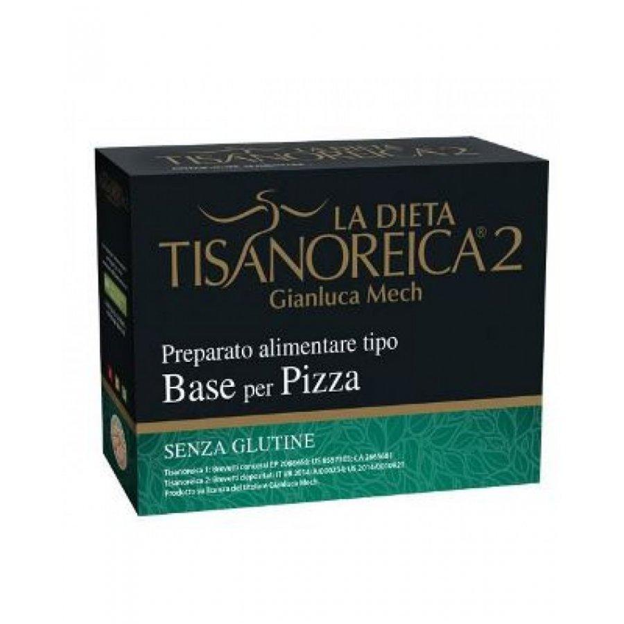 Tisanoreica Base Per Pizza Senza Glutine 4 Preparati da 31.5g