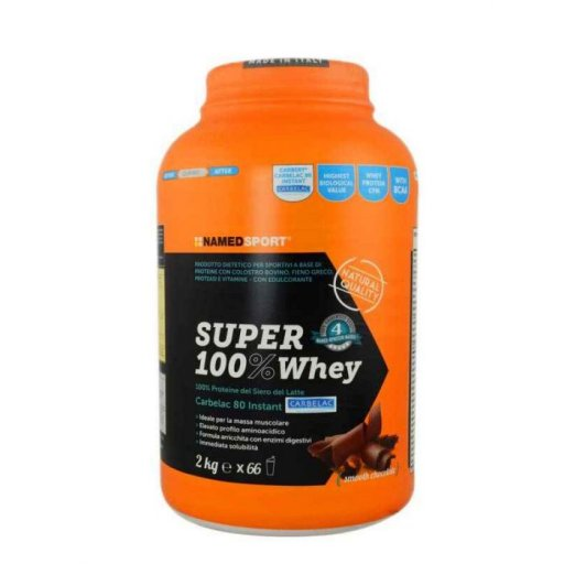 Named Sport - Super 100% Whey Smoothie Chocolate - 2 Kg