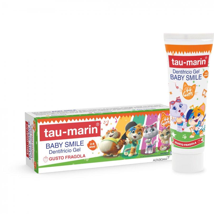 Tau Marin DentifriciobBaby gusto fragola 44 gatti 50 ml