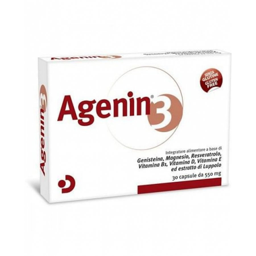 Agenin 3 - 30 Capsule 550mg
