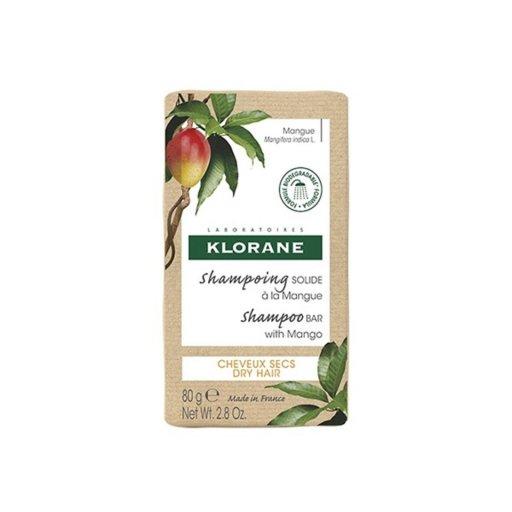 Klorane - Shampoo Solido Mango Capelli Secchi