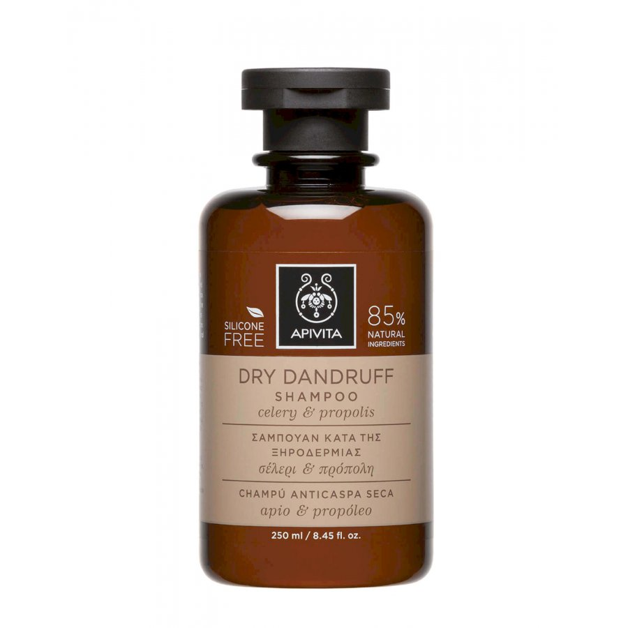 Apivita Dry Dundruff Shampoo Celery E Propolis 250 Ml