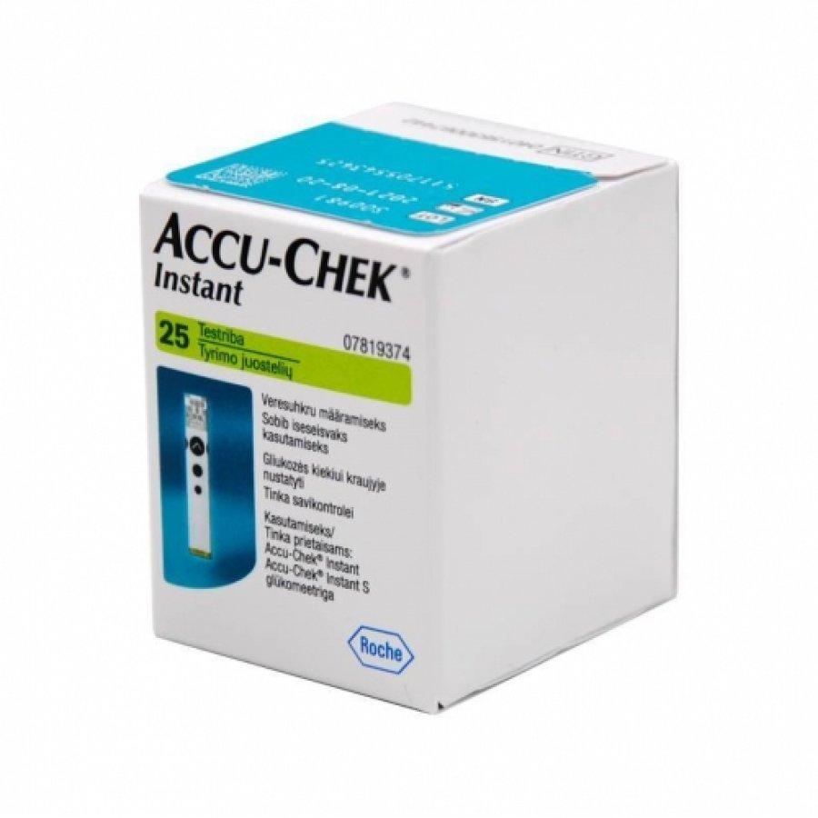Accu-Chek Instant - 25 Strips