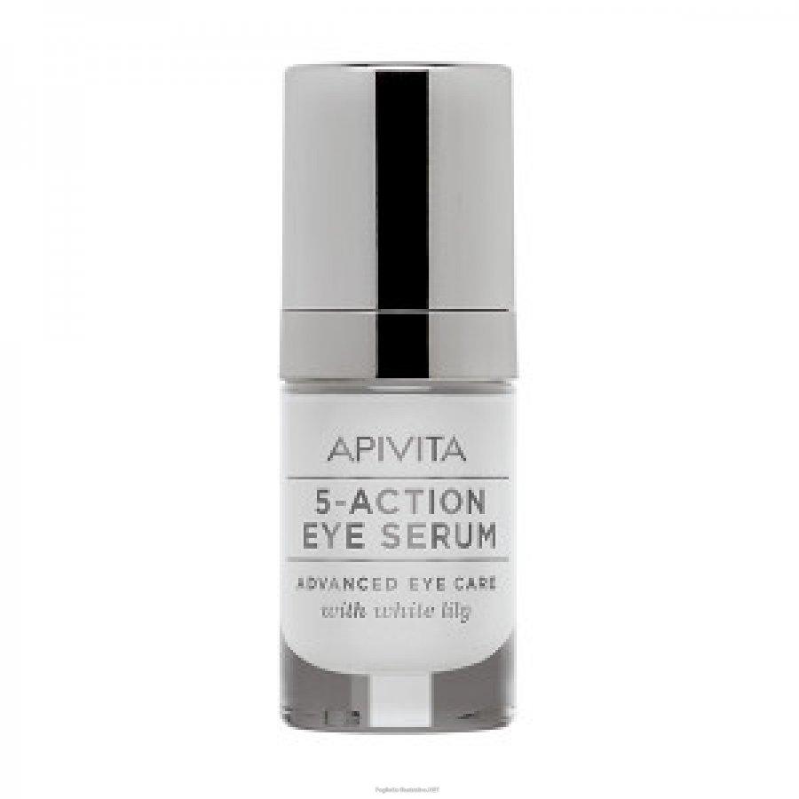 Apivita 5-act Eye Serum 15ml
