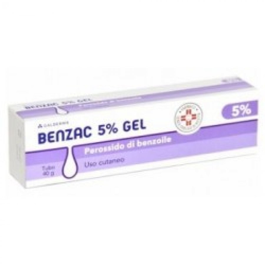 BENZAC * GEL 40G 5% GMM
