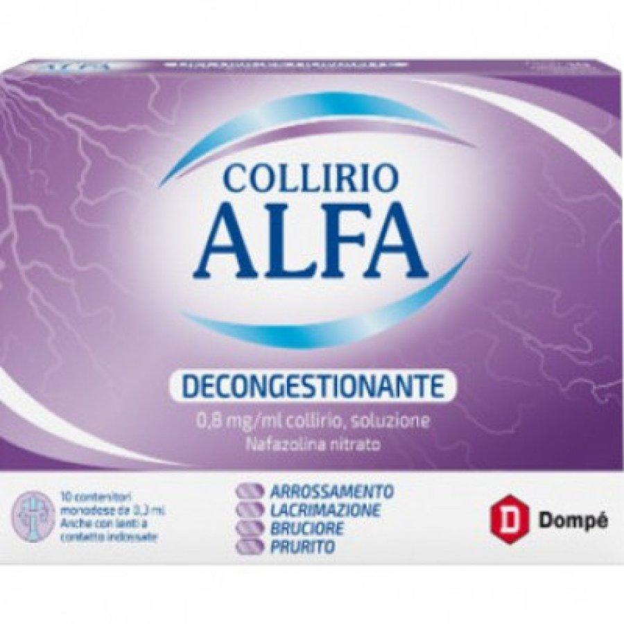 Collirio alfa decongestionante 10 contenitori 0,3 ml