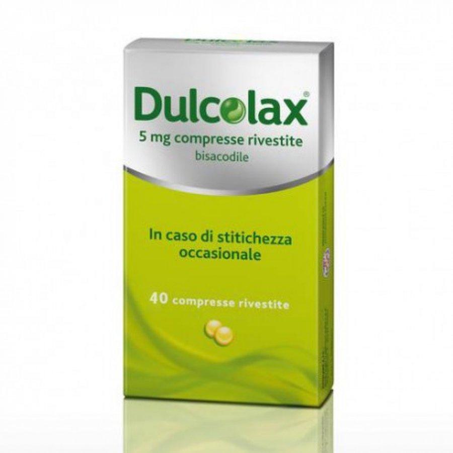 DULCOLAX * 40 COMPRESSE RIVESTITE 5MG GMM
