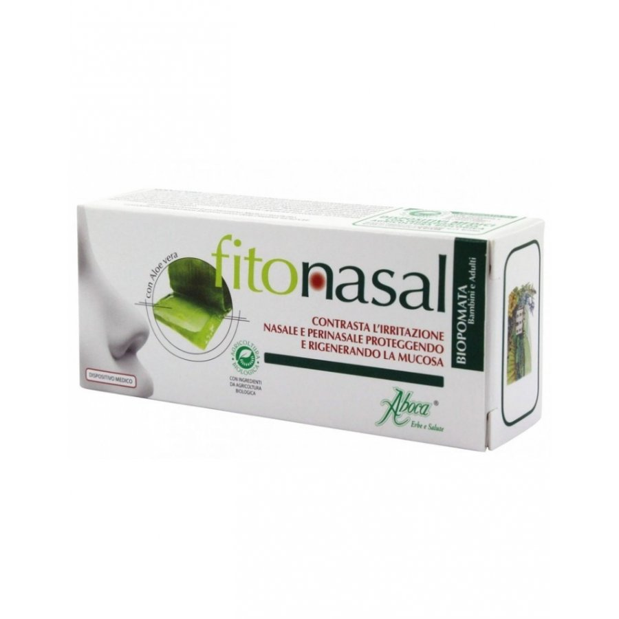 Fitonasal BioPomata 10ml - Aboca - Contrasta l'irritazione della mucosa nasale