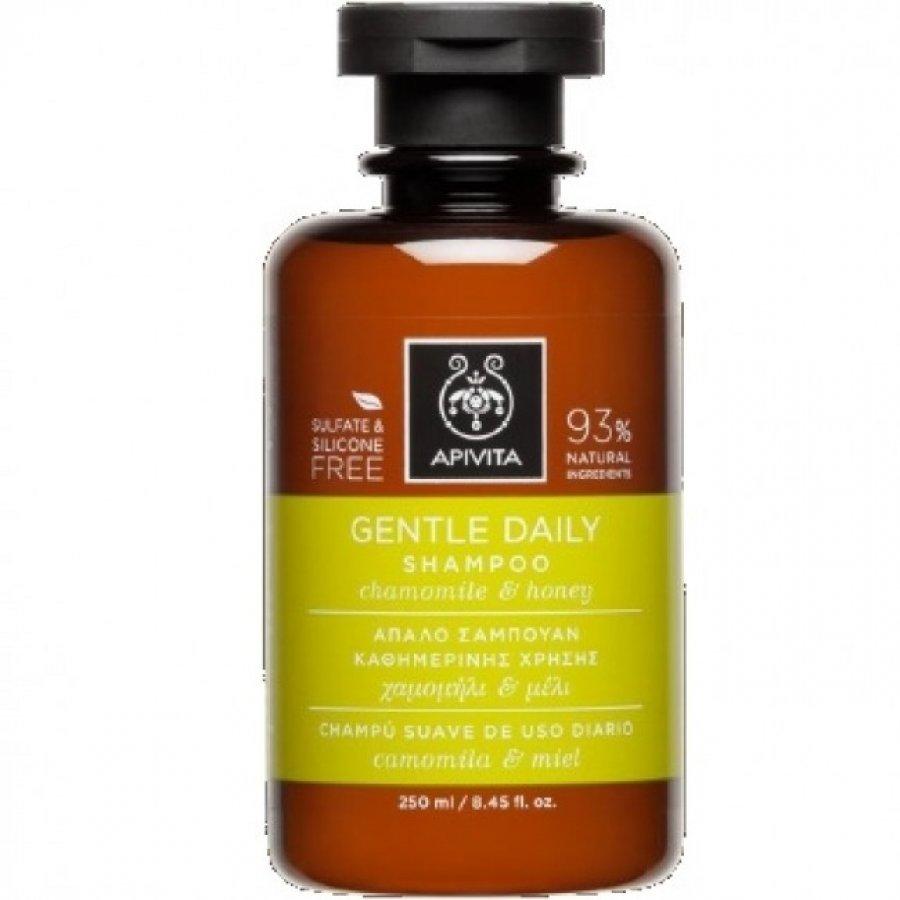 Apivita Shampoo Gent Daily Camomilla 250 ml