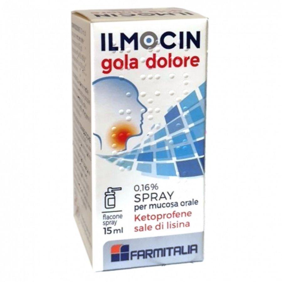 Descrizione Ilmocin Gola Dolore Spray 15ml