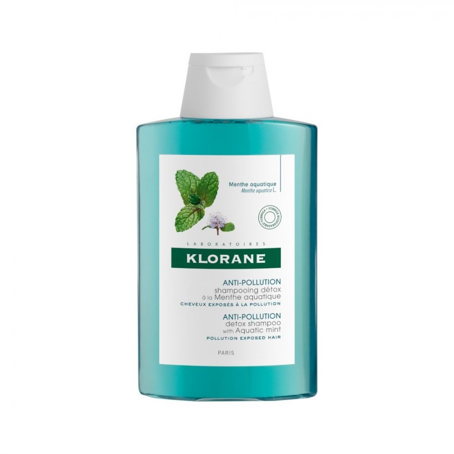 Klorane - Shampoo Detox alla Menta Acquatica Mentha aquatica