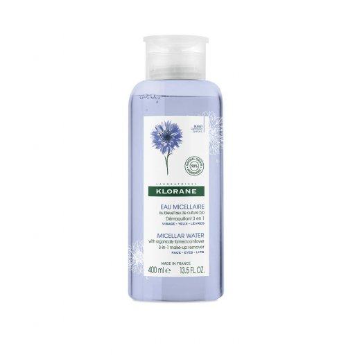 Klorane - Acqua Micellare Fiordaliso Bio - 400ml