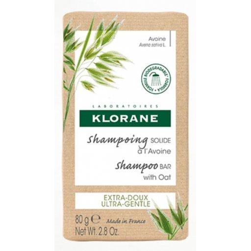 Klorane - Shampoo Solido Avena 80gr