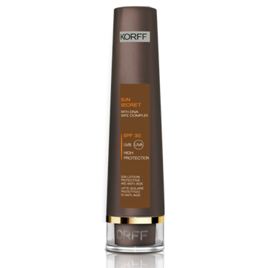 Korff Sole Korff Linea Sun Secret SPF30 Latte Solare Antiage Protezione Alta 100 ml
