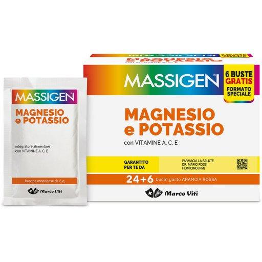 Marco Viti - Massigen Magnesio e Potassio - 24 + 6 bustine