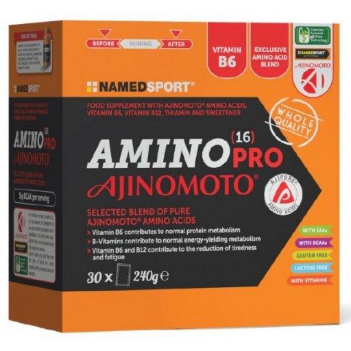 Named Sport - Amino Pro 16 Ajinomoto - 30 Bustine