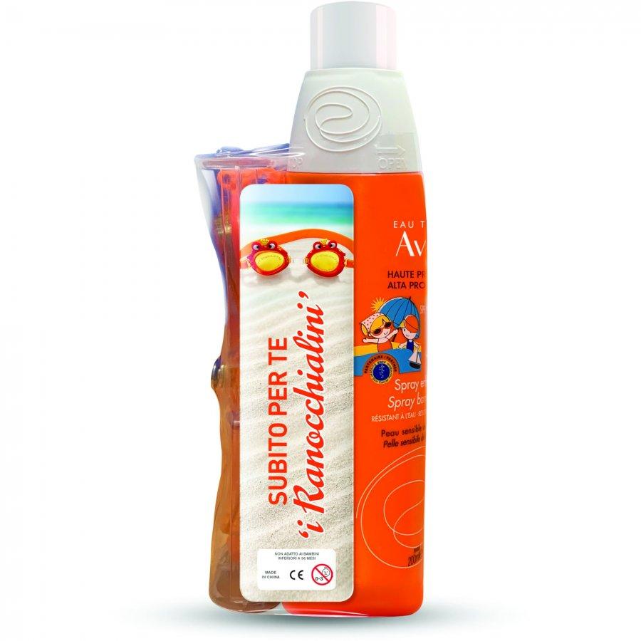 Avène Sole Avène Spray Solare Bambino Protezione Molto Alta SPF50+, 200ml + Gadget