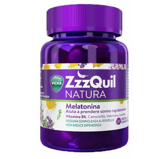 ZzzQuil NATURa -  Integratore Naturale Per Il Sonno - 30 pastiglie gommose