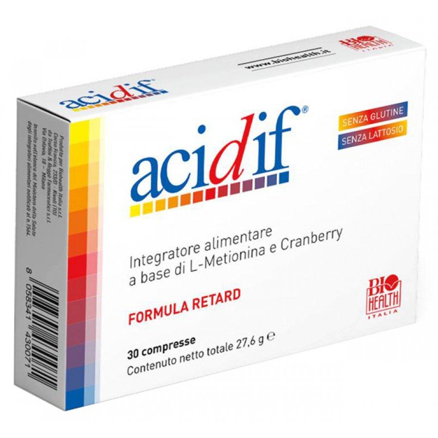 ACIDIF INTEG 30 CPR