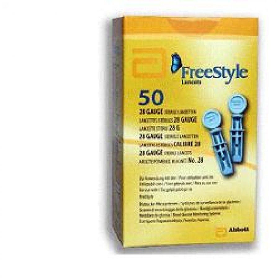 Abbott FREESTYLE 50 lancette pungidito