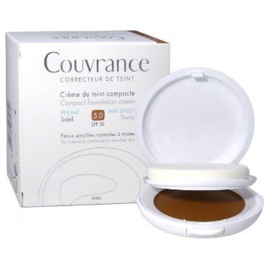 AVENE (Pierre Fabre It. SpA) Eau Thermale Avene Couvrance Fondotinta Crema Compatta Colorata Oilfree Sole
