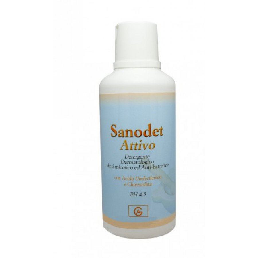 SANODET Attivo Shampoo Doccia 500ml