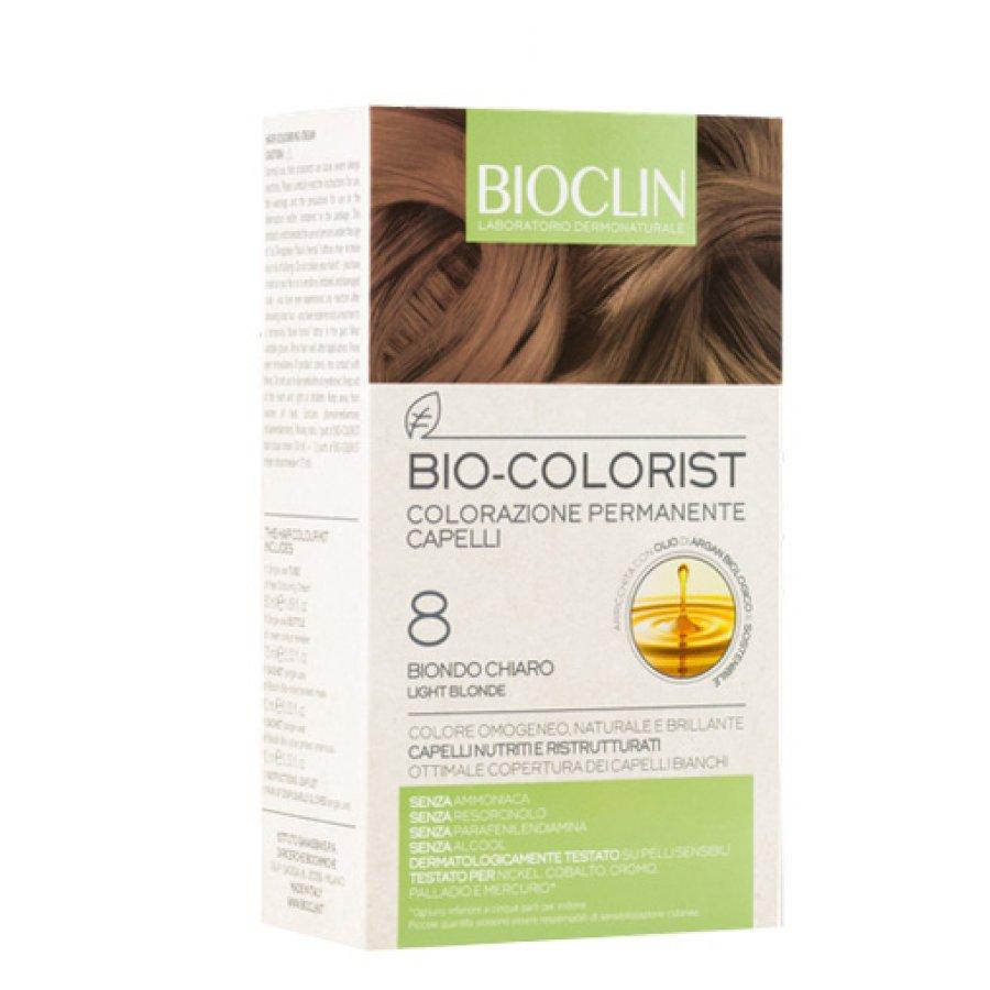 Bioclin Bio Colorist Colorazione Permanente 8 Biondo Chiaro