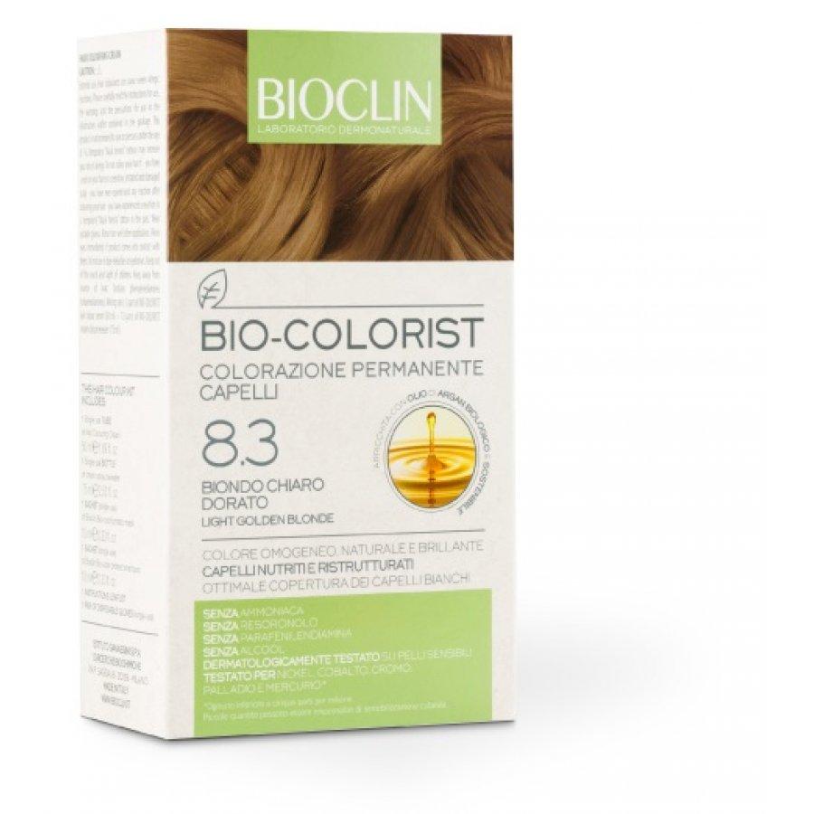 Bioclin Capelli Bioclin Bio-Colorist Colorazione Permanente Capello Nuance 8.3