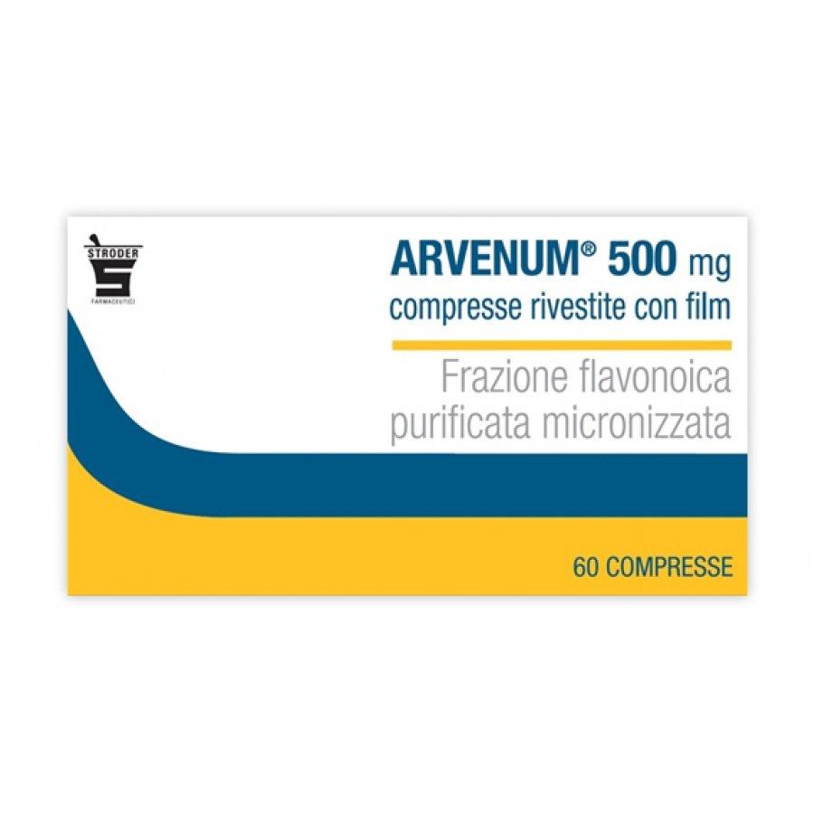 ARVENUM * 60 COMPRESSE RIVESTITE 500MG