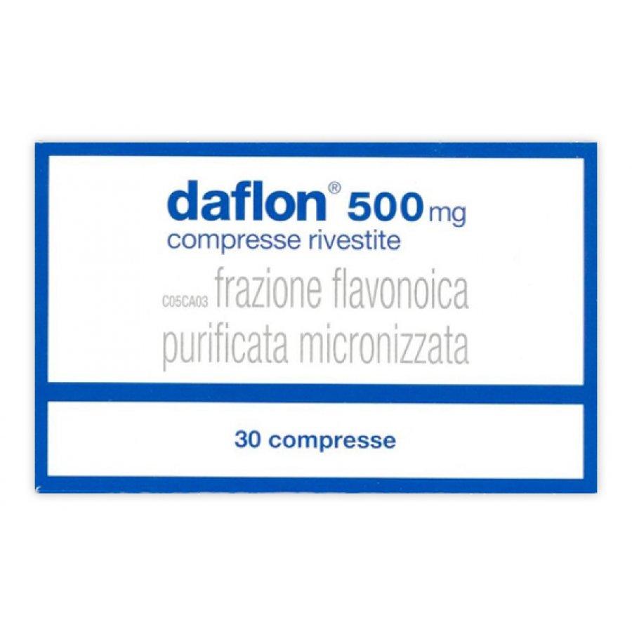 DAFLON * 30 COMPRESSE RIVESTITE 500MG