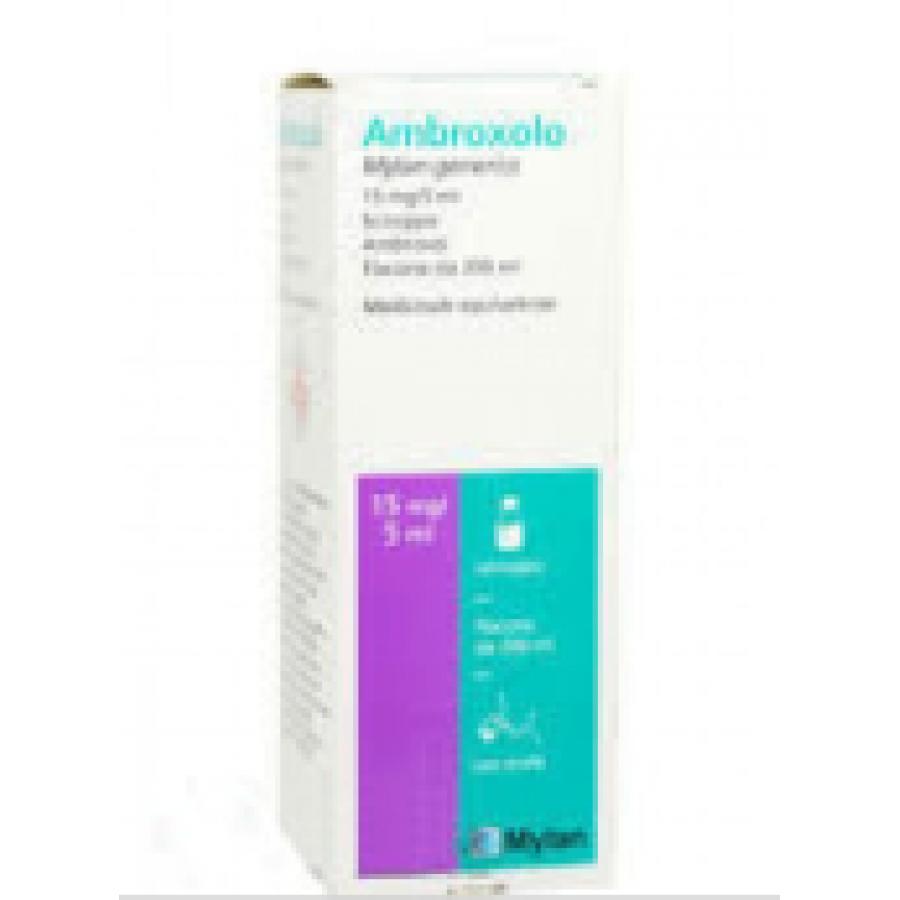 AMBROXOLO MGI*FL 200ML 15MG/5ML