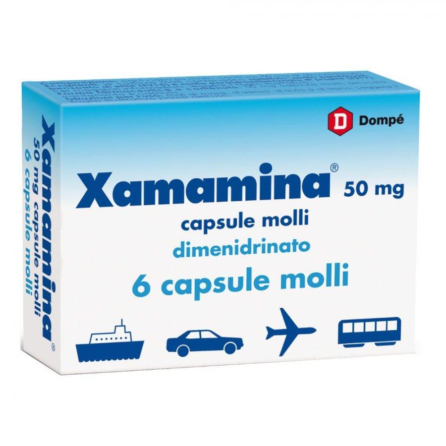 Xamamina adulti 6 capsule cps