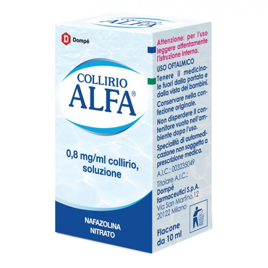 Collirio alfa gocce gtt 10 ml