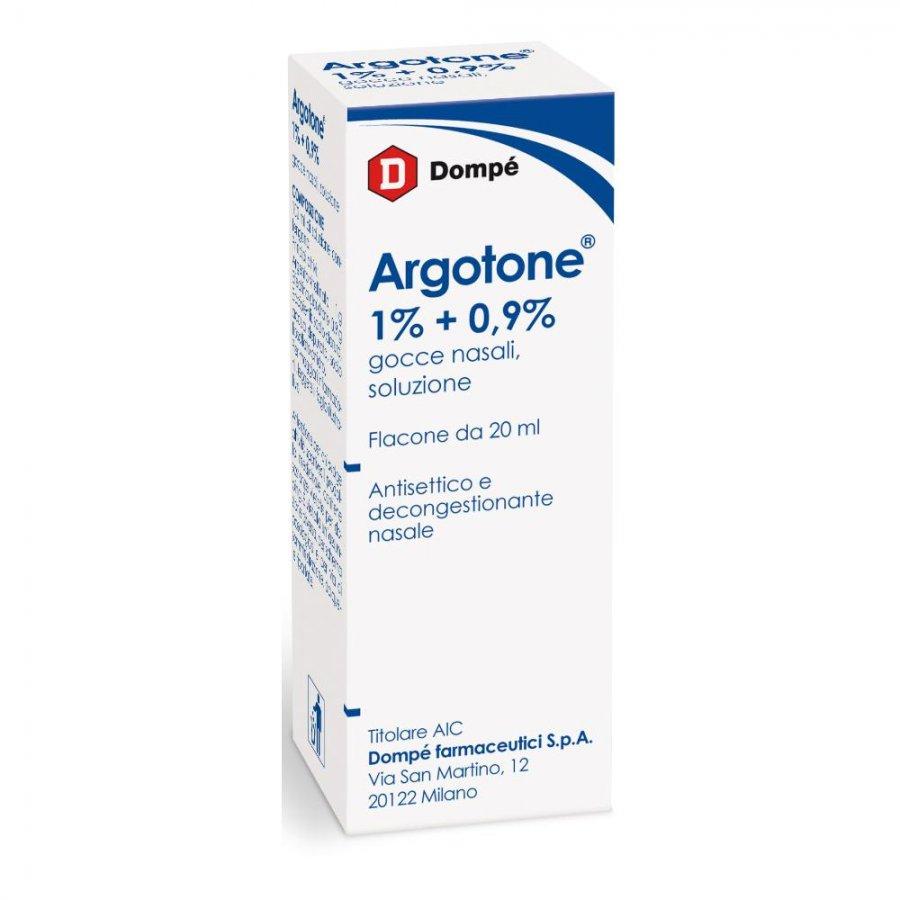 Argotone gtt gocce rino 20ML