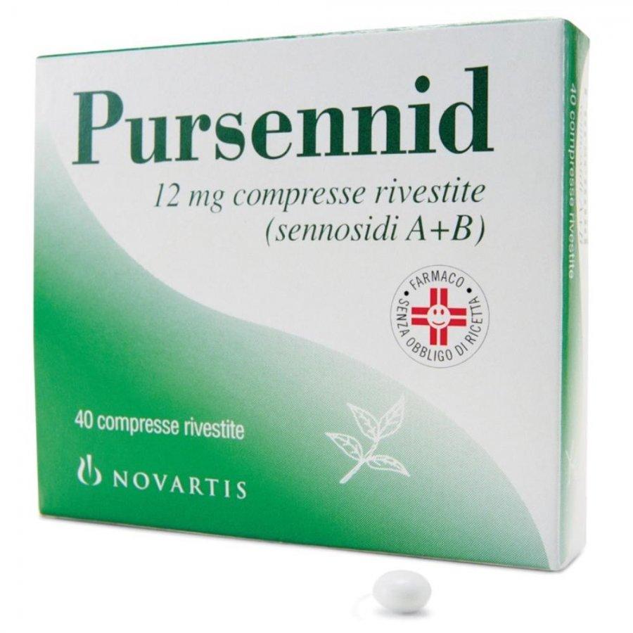 PURSENNID*40CPR RIV 12MG